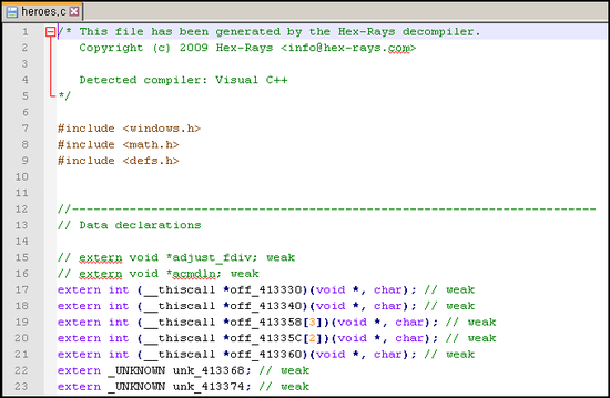 IDA Hex-Rays Error] Decompilation failure: FFFFFFFF: wrong