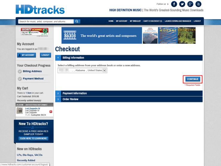 HDtracks에서 (고음질)음원 구매하기 : 네이버 블로그