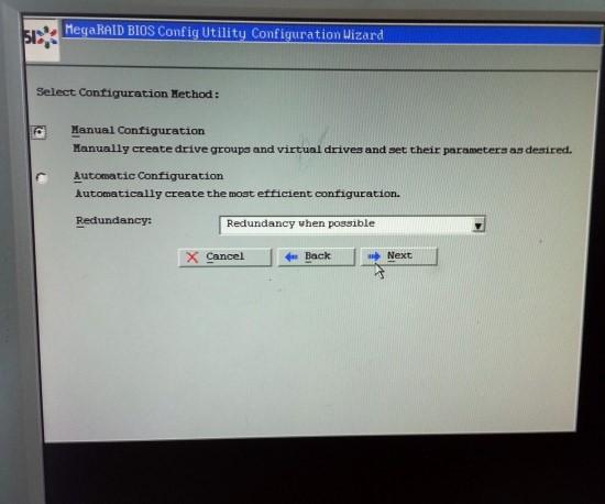 IBM MegaRAID 설정 : 네이버 블로그