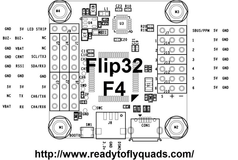 [Flight controller 연결도] F4 연결도 모음| : 네이버 블로그