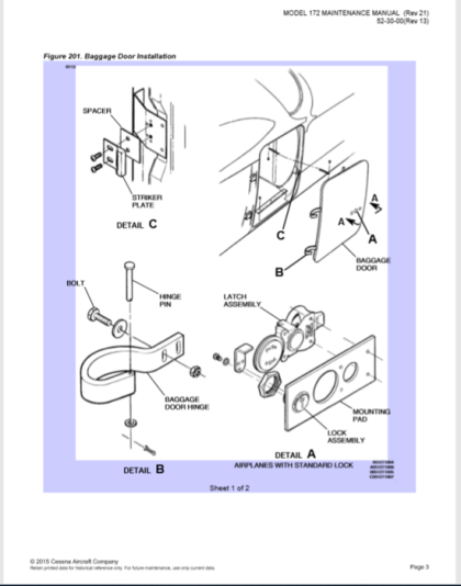 Cessna 172 Maitenance Manual (Rev 21)(한글 세스나 정비교범